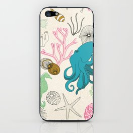 I Need the Sea and the Sea Needs Me iPhone Skin
