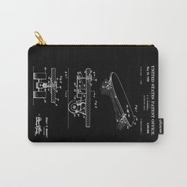 Skateboarding Patent Carry-All Pouch