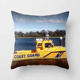 Coast Guard Throw Pillow