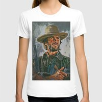 clint eastwood T-shirts featuring  Clint Eastwood by andy551
