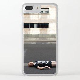 Wait in Berlin Clear iPhone Case