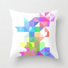 Color Love Throw Pillow