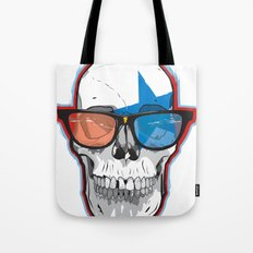 The 3D Star Punk Tote Bag