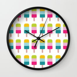 Ice lolly dream Wall Clock