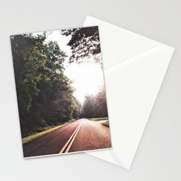 Sunset Drive on the Blue Ridge Parkway Stationery Cards