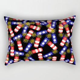 Firecracker Celebration Rectangular Pillow