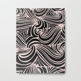 the big swirl Metal Print