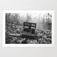 polaroid Art Prints featuring Polaroid by beabbyful