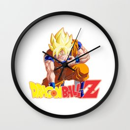 Songoku Super Saiyan Wall Clock