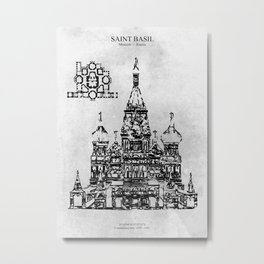 Saint Basil Metal Print