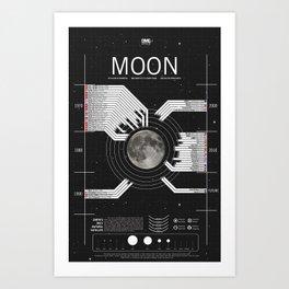 OMG SPACE: Moon 1970 - 2025 Art Print