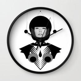 Dark Homonyms IV Wall Clock