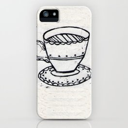 Lovely Cuppa iPhone Case
