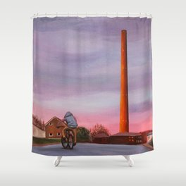 Teenage Dirtbag Shower Curtain