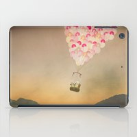 never stop exploring iPad Cases featuring NEVER STOP EXPLORING V by Monika Strigel