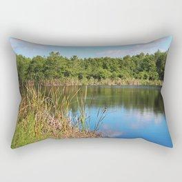 Gator Lake III Rectangular Pillow