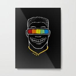 Seeing Rainbow Metal Print