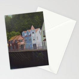 Ketchikan's Creek Street Stationery Cards