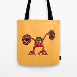 Alien Wiggle Monster Germ - Shout Tote Bag