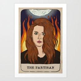 Sarah Manning Tarot Card Art Print