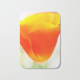 Macro Poppy Bath Mat