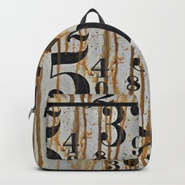 Numeric Values: Crude Figures Backpack