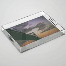 Ben Franklin Bridge Acrylic Tray