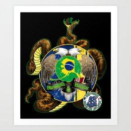 ABJJ-KHS Design Art Print