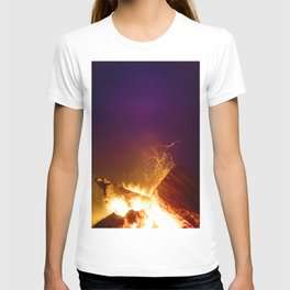 The Fire Sunset (Color) T-shirt
