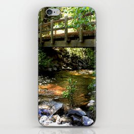Bridge Over Fall Creek at Vallecito iPhone Skin