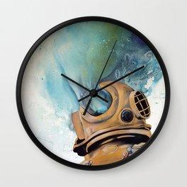 Deep Sea Diver #2 Wall Clock