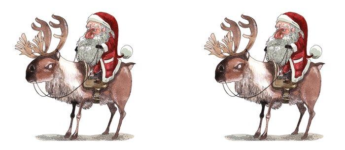 Père Noël Énervé / Angry Santa Coffee Mug