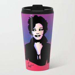 Janet Jackson - Janet - Pop Art Travel Mug