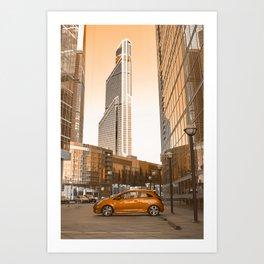 Cosmic City II Art Print