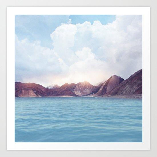 Pastel vibes 61 Art Print