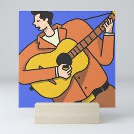 Mr. Tambourine Man Mini Art Print