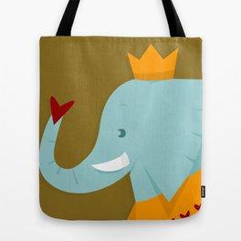Elle the Elephant Tote Bag
