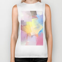 Cubism Abstract 189 Biker Tank