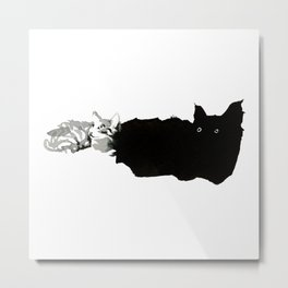 Tiny Kitties Metal Print