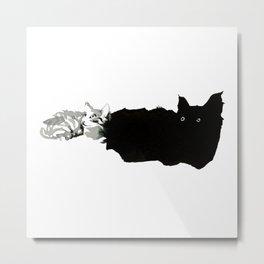 Tiny Kitties Metal Print