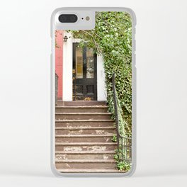 No. 4 Clear iPhone Case