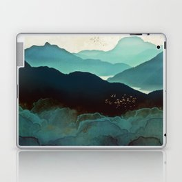 Indigo Mountains Laptop & iPad Skin