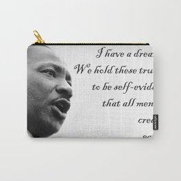 All are Created Equal Carry-All Pouch