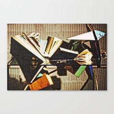Broken Books  Canvas Print