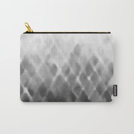 Diamond Fade in Grey Carry-All Pouch