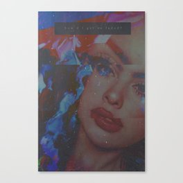 how did I get so faded? Canvas Print