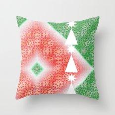 Christmas Watermelon Throw Pillow