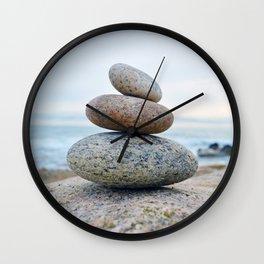 Cairn - Camp Hero - Montauk, New York Wall Clock
