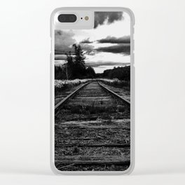 Historic Infrastructure in Disuse and Disrepair Clear iPhone Case