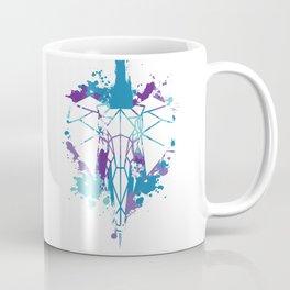 Elephants - Blue Chaos Coffee Mug